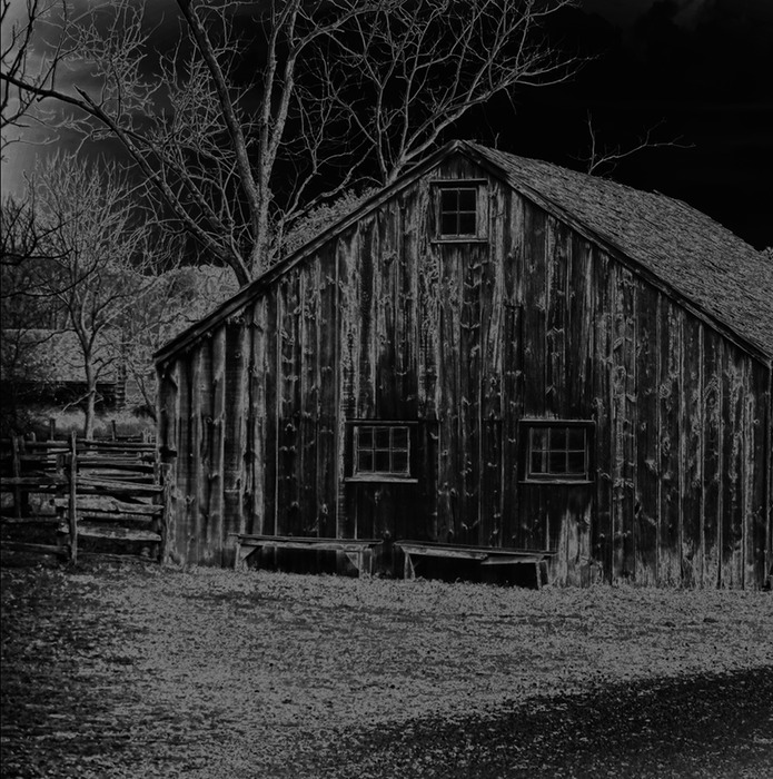 Bethpage Barn solarized Joe more crop