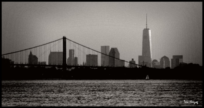 Bridge with Freedom Tower
